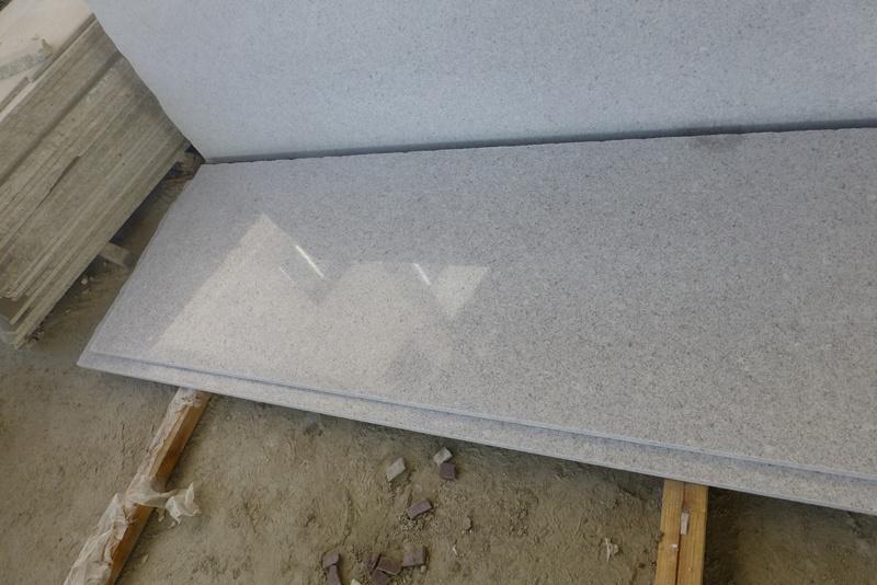 White Pearl White Granite Countertop