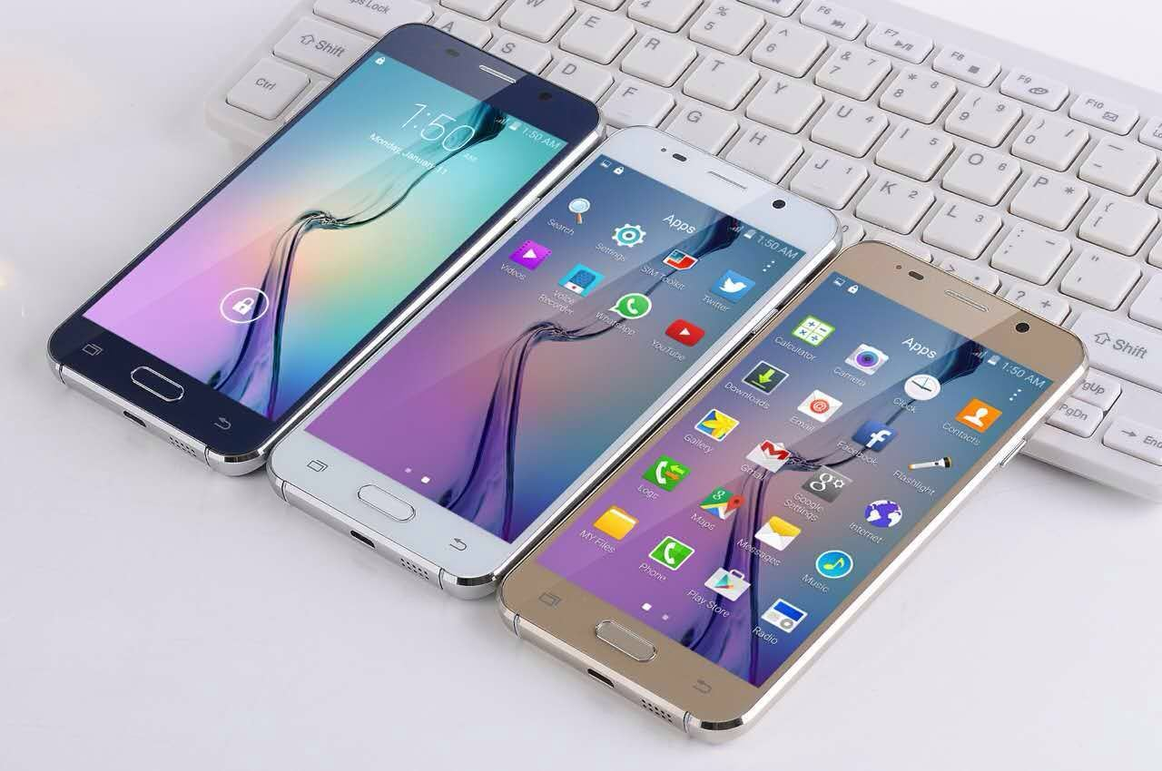 Mtk6580 Quad Core 5.0 HD Screen 3G Mobile Phone.
