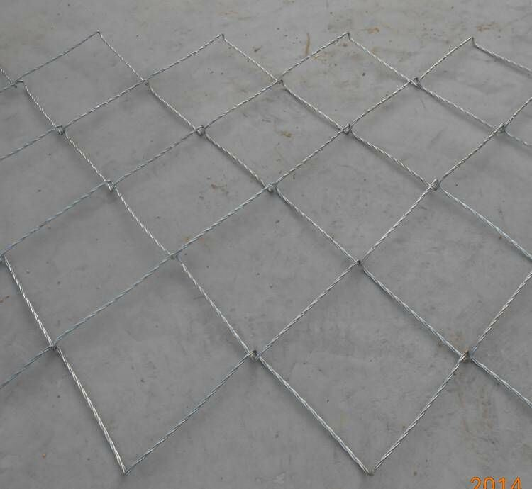 2015 High Quality Steel Slope Protection Net Rolled Cable Net