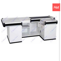 110 V 120W Checkout Counter with Motor Transfer Belt