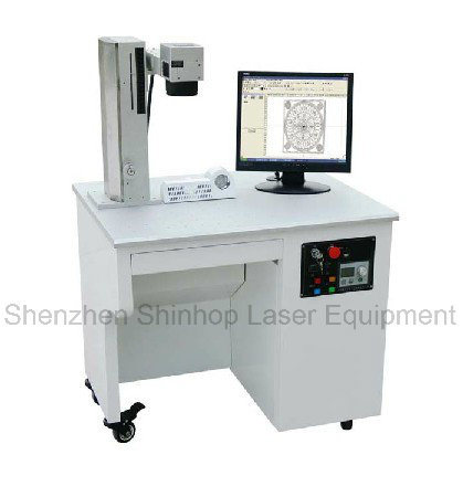 PCB Keyboard and Portable Fiber Laser Marking Machine Used for Metal/Steel/Gold/Silver Logos