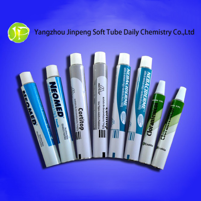 Aluminum Cosmetic Tubes Medicinal Tubes Ointment Tubes