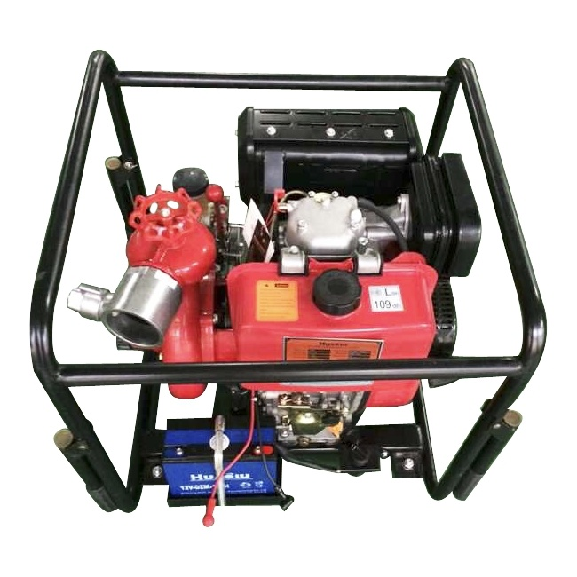 Bj-10b Portable Fire Pump with Frame Handle