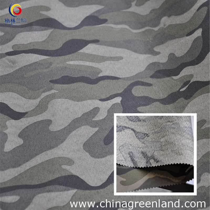 Polyester Camouflage Printed Twill Woven Fabric (GLLYH002)