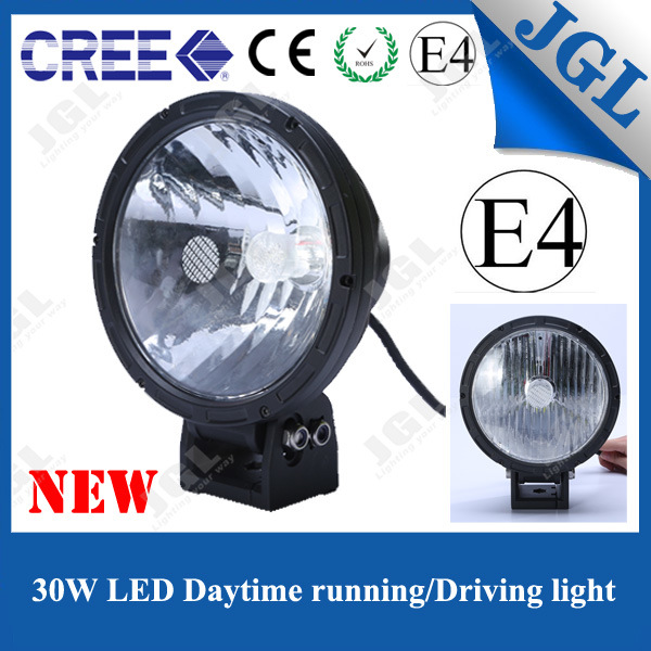 30W LED Driving Work Light with 1W LED Daytime Lighting