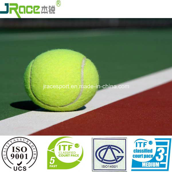 Rubber Flooring for Outdoor Sports Court Tennis Court