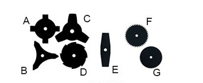 4 Stroke, Gx35 Engine, Professional Backpack Petrol Brush Cutter (BC350)