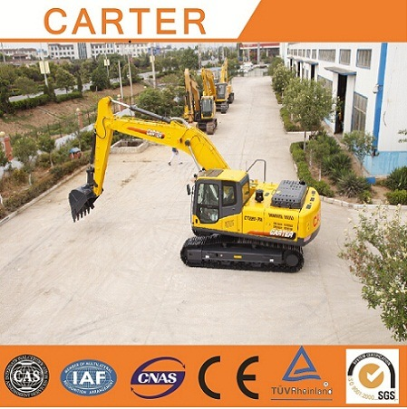 CT220-8c (22T) Multifunction Heavy Duty Crawler Backhoe Excavators