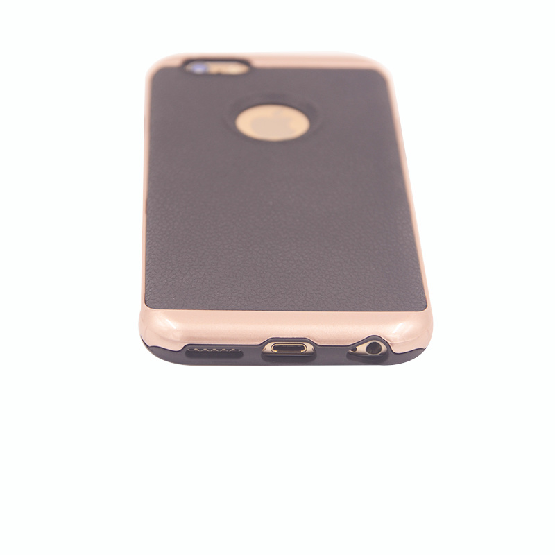 J5 J7 Luxury Leather TPU+PC Hybrid Mobile Phone Case for iPhone 7 Plus (XSEH-008)