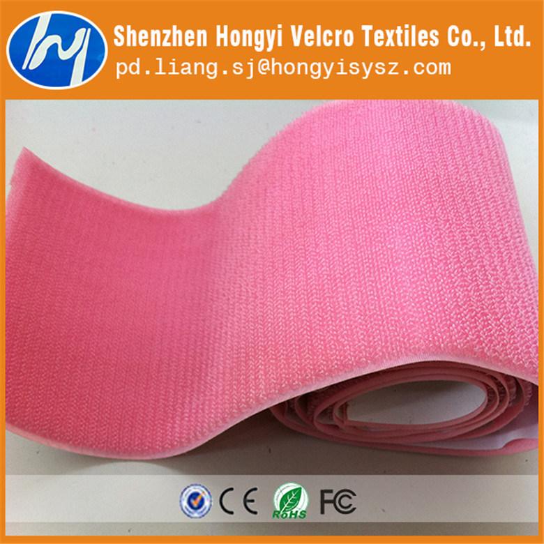 Nylon Durable Non-Brushed Loop Velcro Tape