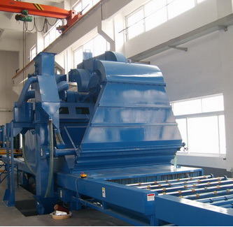 Sand Blasting Machine for Stainless Steel Sheet