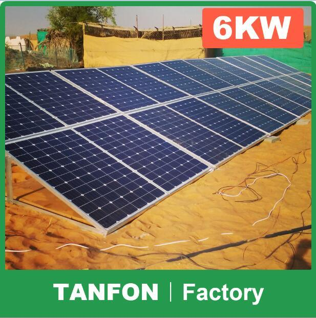 Energy Saving Home Use 5kw 6kw off Grid PV Solar Power System, Best Price off Grid Solar System