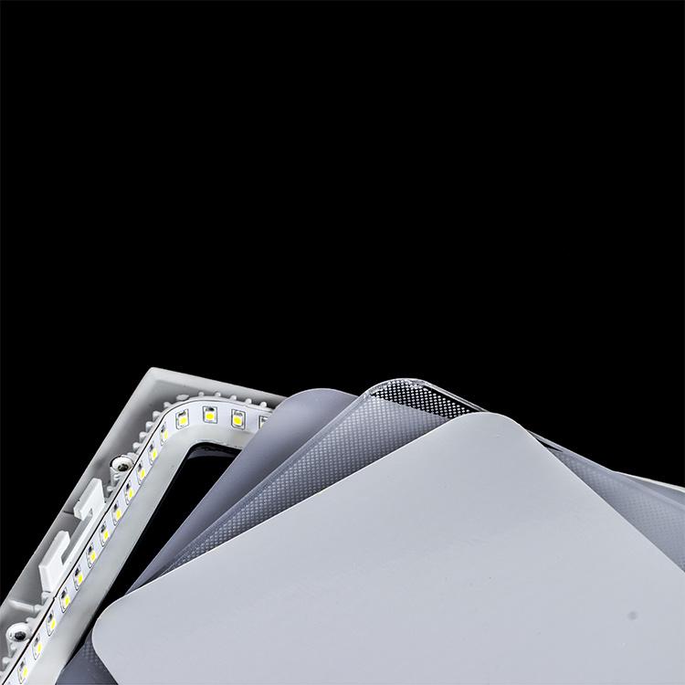 Ultra Slim 9W LED Panel Light Square LED Ceiling Lights