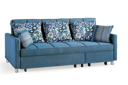 Functional Popular Living Room Furniture Fabric Sofa Bed