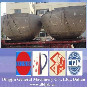 Large Storage Tank Ends Hemispherical Head
