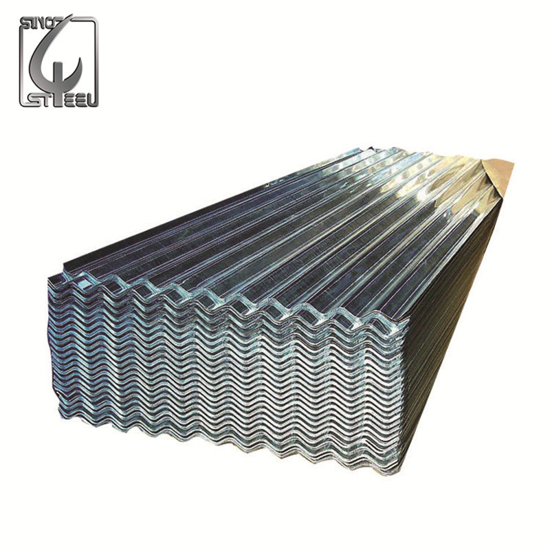 Factory Price SGCC Galvanzied Corrugated Steel Sheet for Roofing