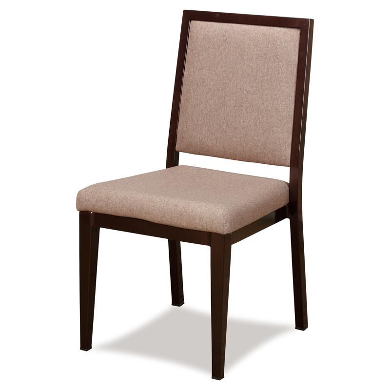 Classy Wood Look Aluminum Restaurant Dining Chairs