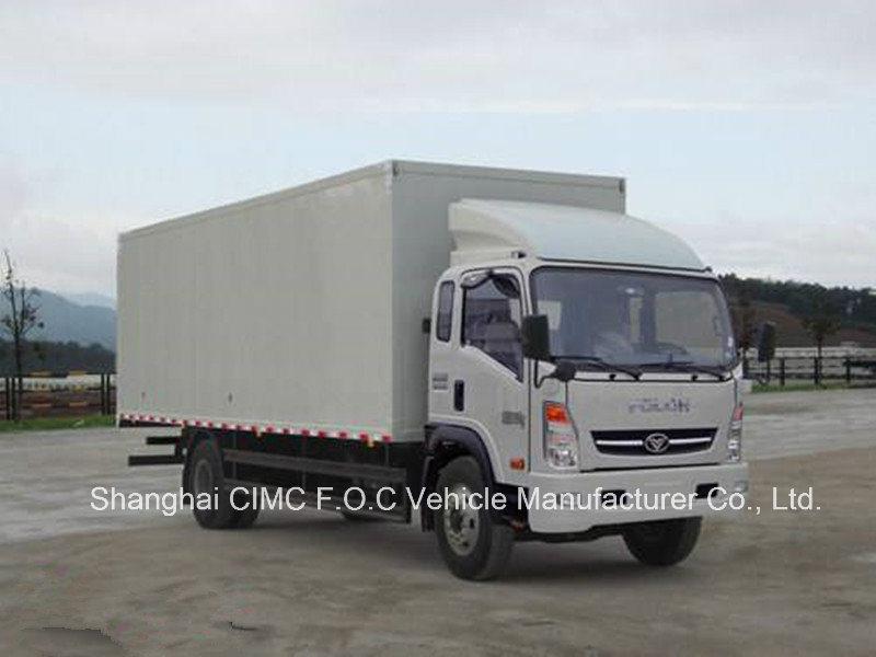Sinotruk Homan Light Duty Cargo Truck 4*2 Van Truck