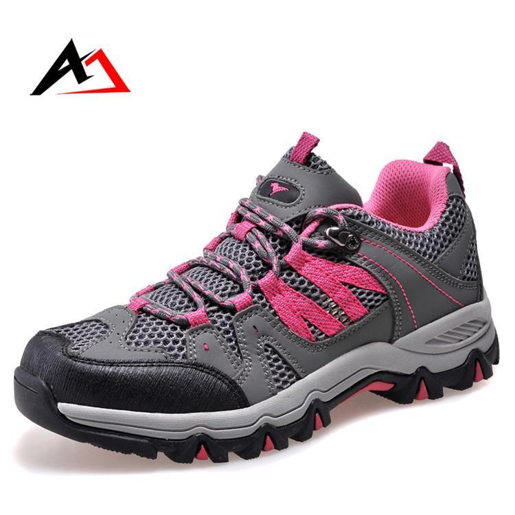 Hiking Shoes Outdoor Footwear Sports for Men Climbing (AK8907)