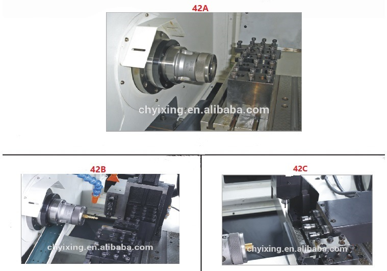 Most Popular High Quality CNC Lathe Cutting Tools New Heavy Duty CNC Lathe Machine Price