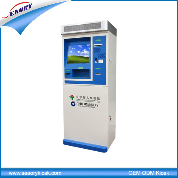 China Supply Multi-Function Kiosk, Card Dispenser Kiosk, Hospital Lobby Kiosk
