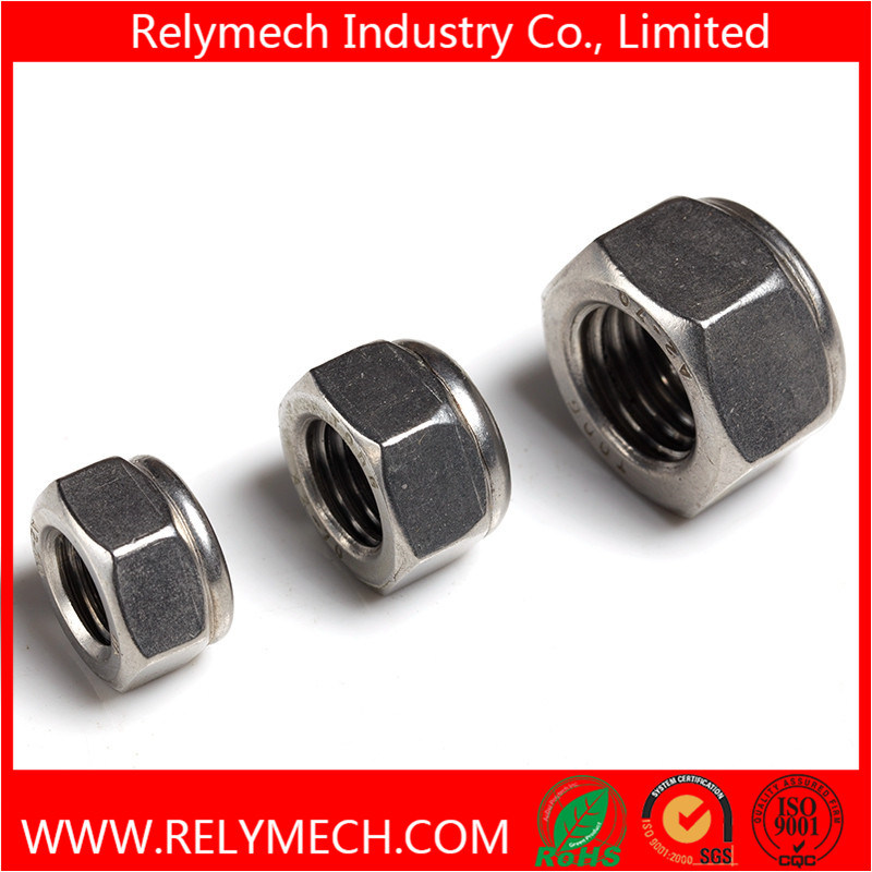 Stainless Steel Hex Nylon Insert Lock Nut M2-M20