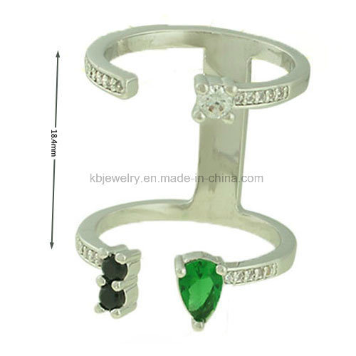 Latest Style Jewelry Plated Finger Ring (KR3140)