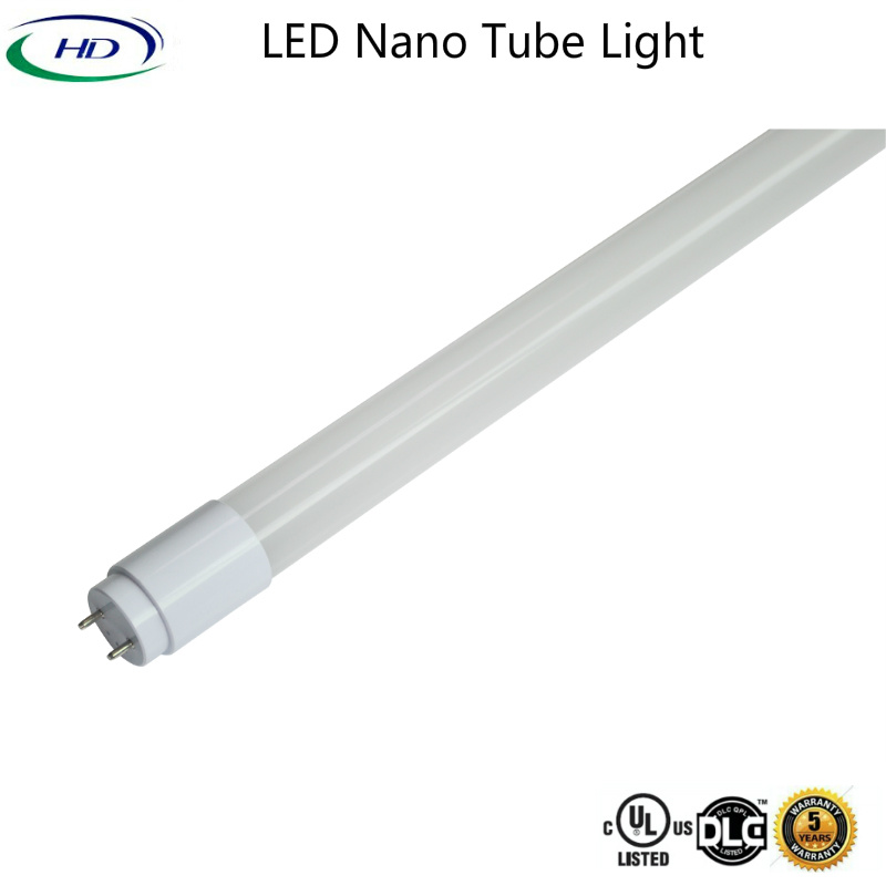 10W LED Nano Plastic Tube Light 180lm/W (A Series)
