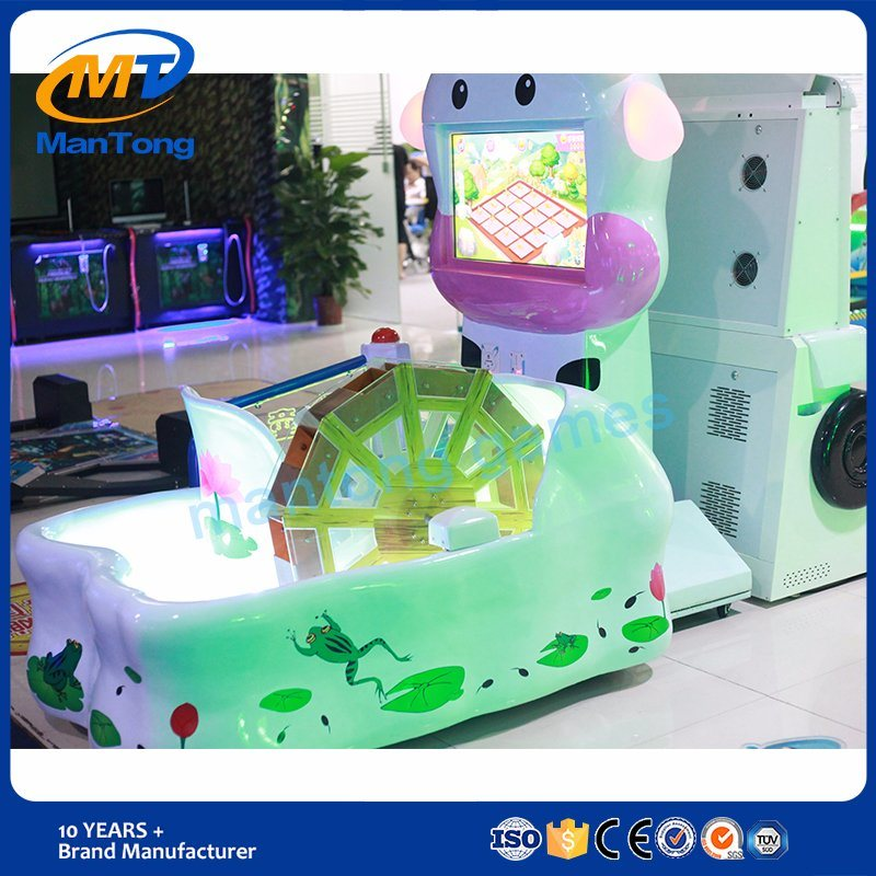 Attrctive Kids Water Wheel Kids Game Machines Coin Operation Ticket out Game Machines