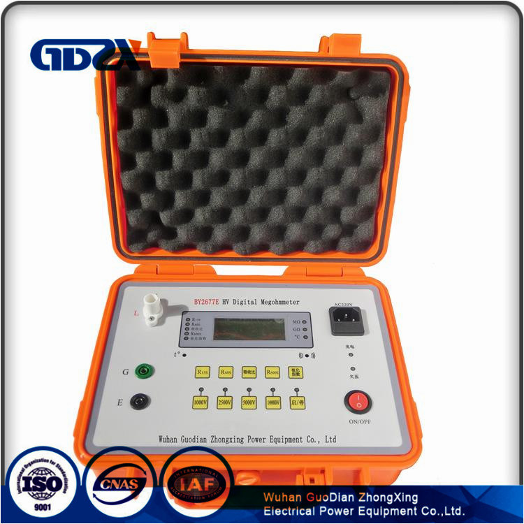 High Voltage Insulation Resistance Tester 10kV