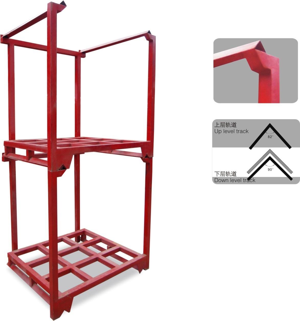 Heavy Duty Steel Stackable Upright Pallet Rack