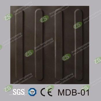Customizable Durable 30*30cm Rubber Paving Tactile Tile
