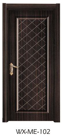 Low Price Hotsale Interior Solid Wooden Melamine Door