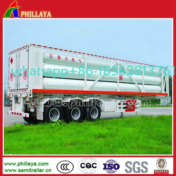 20FT 40FT 8- 12 Tube-Pipes Liquid Gas Transport Tanker Container