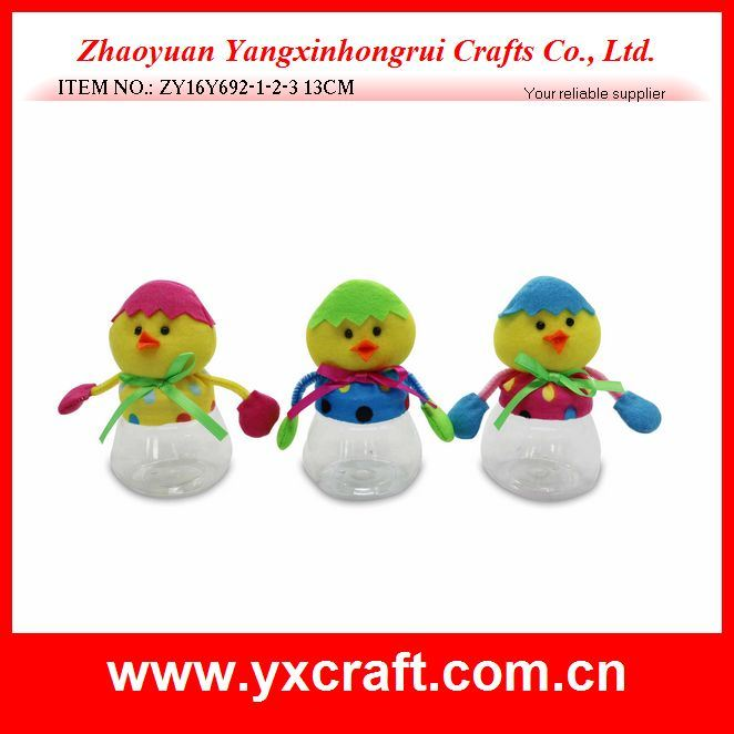 Easter Decoration (ZY16Y692-1-2-3) Wholesale Easter Gift Made in China Handicraft Rabbit