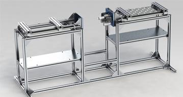 Aluminum Checking Fixture Tooling Support Shelf