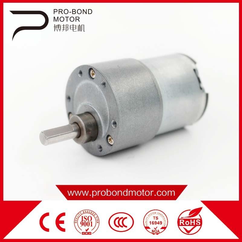 electric DC Brush Permenent Gear Motor