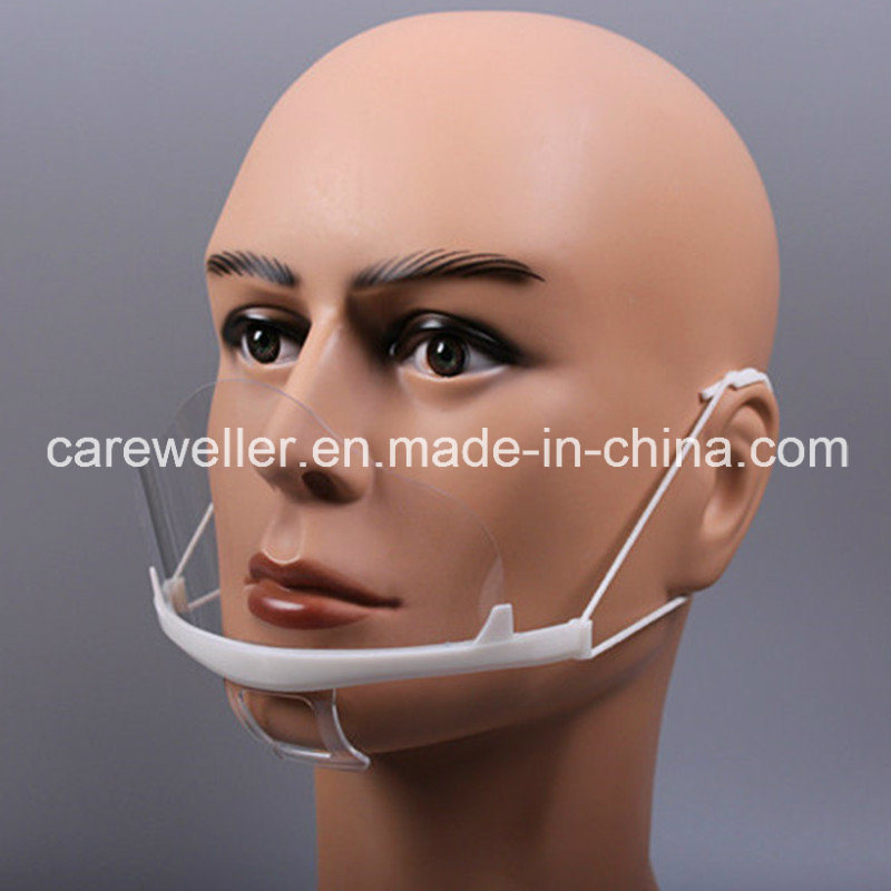 Plastic Transparent Mouth Mask / Mouth Mask