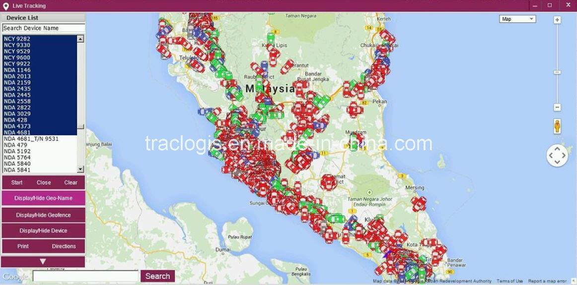 GPS Tracking System for Fleet Management
