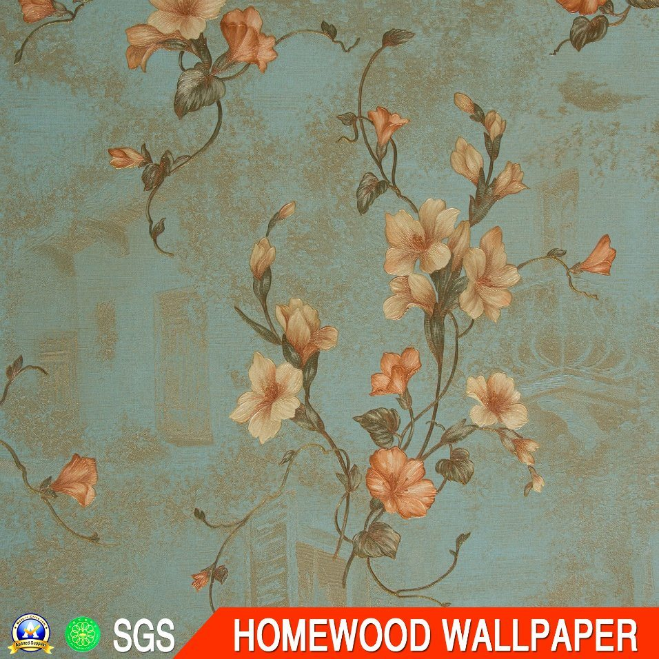 Italy Design Deep Embossed Vinyl Wallpaper (53CM*10M)
