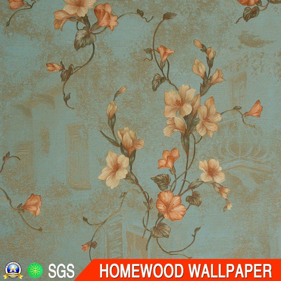 Italy Design Deep Embossed Vinyl Wallpaper (JG306 53CM*10M)