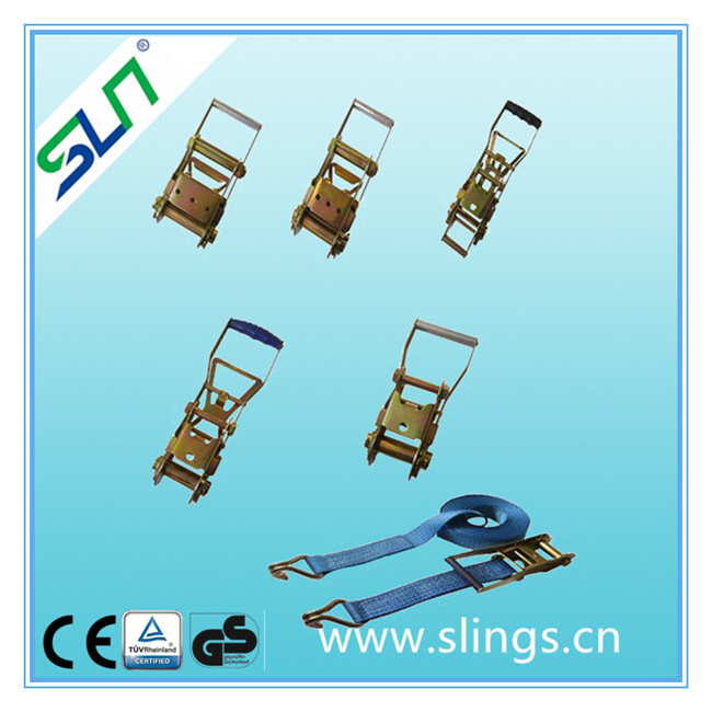 5000kg Ratchet Strap with Claw Hooks (5TX8M)