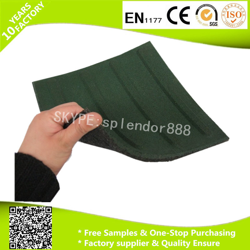 Outdoor Safety Rubber Flooring for Blind Walkway