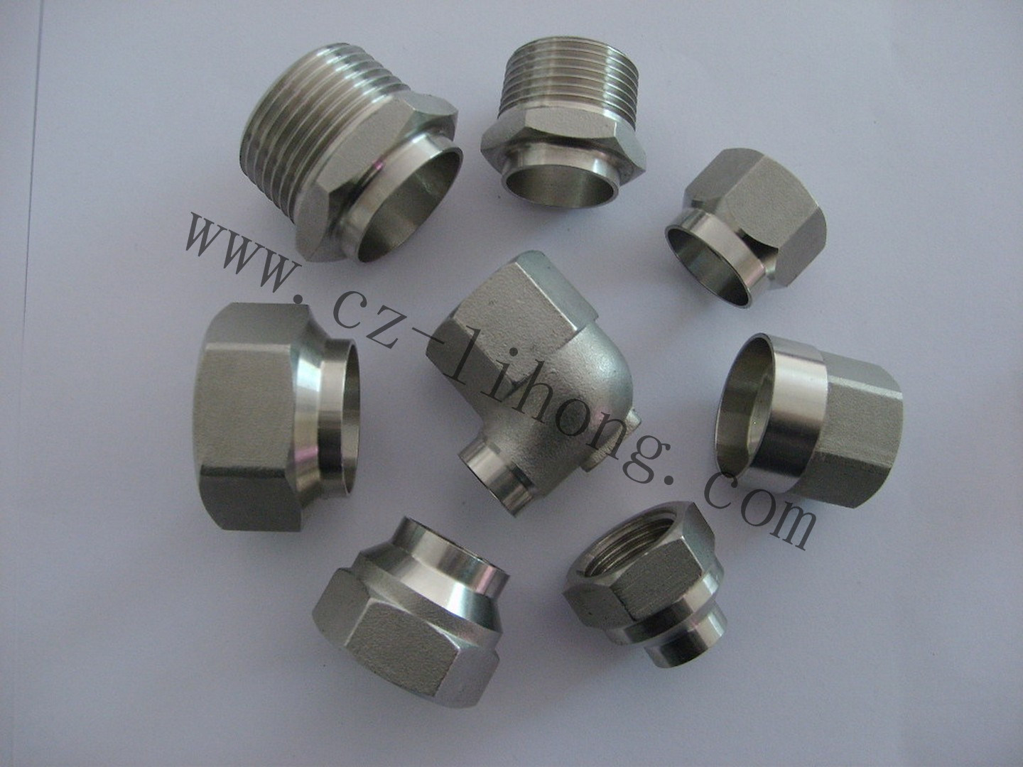 "4"" Stainless Steel 316 DIN2999 Round Cap"
