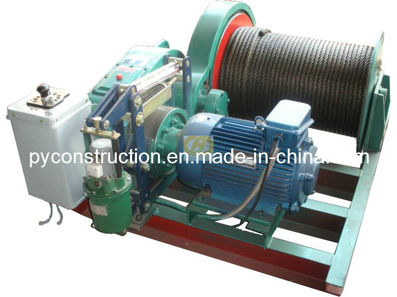 Electric Winch 10ton Slow Speed with Hydraulic Brake