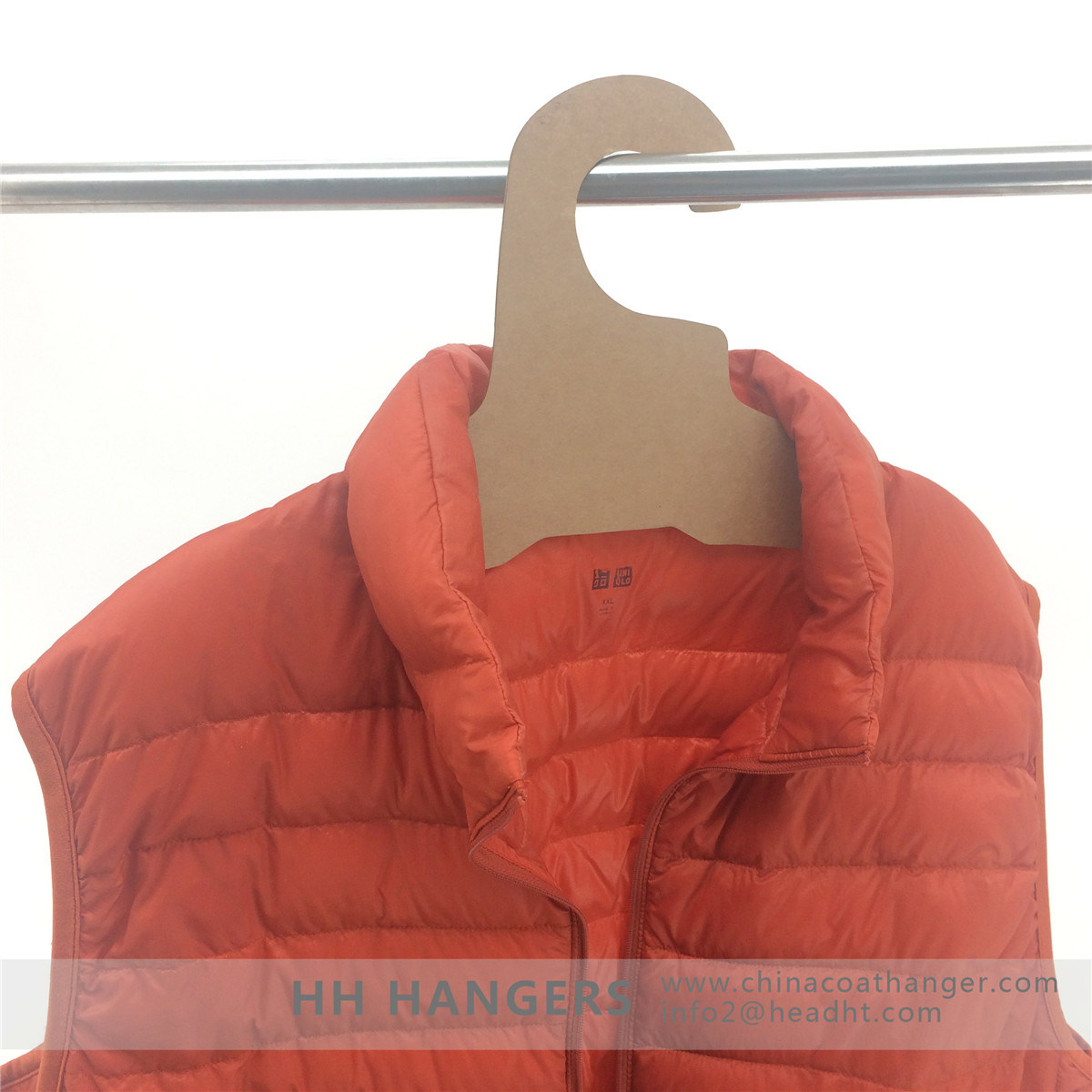 Strong Recycled Cardboard Clothes Hangers Paper Eco Friendly Fsc Hanger Hangers for Jeans