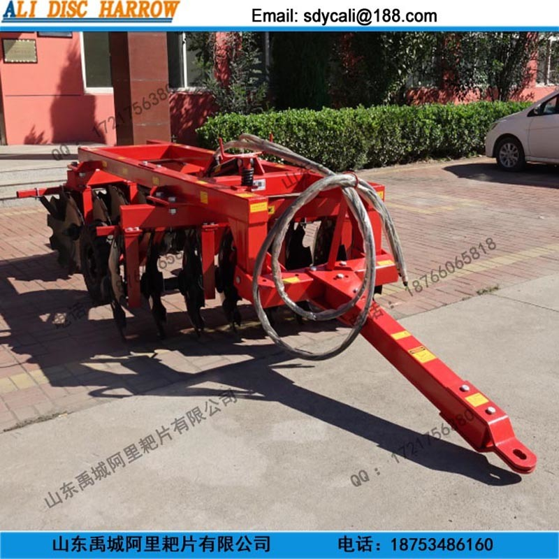 Heavy Duty Hydraulic off Set Disc Harrow with Tire