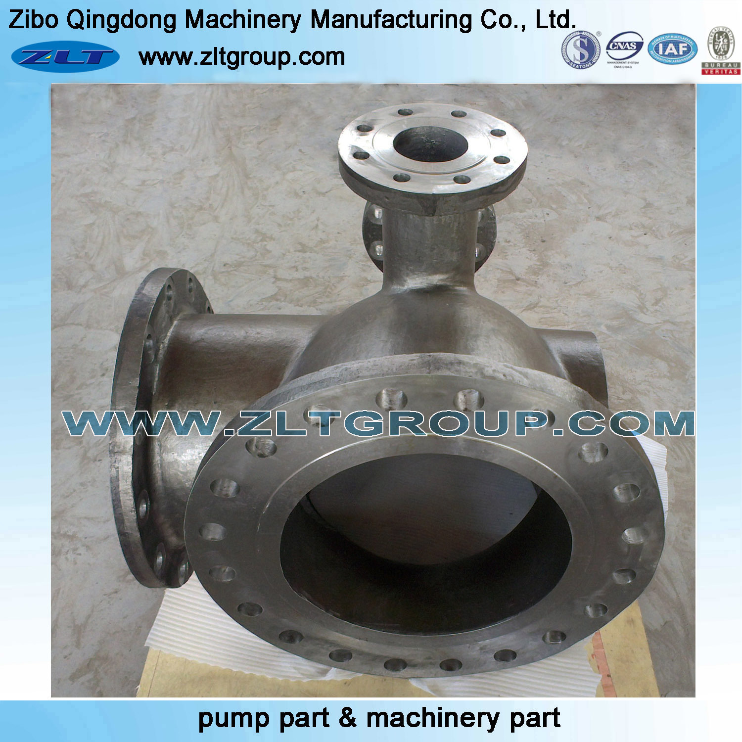 Mechanical Components CNC Machining Part Valve