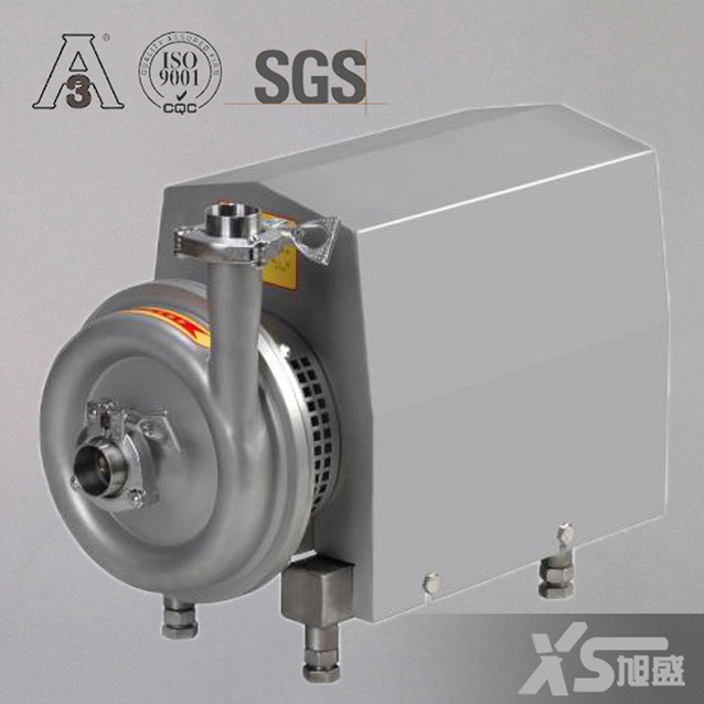 Stainless Steel Ss304 Sanitary Milk Centrifugal Pump with Open Impeller