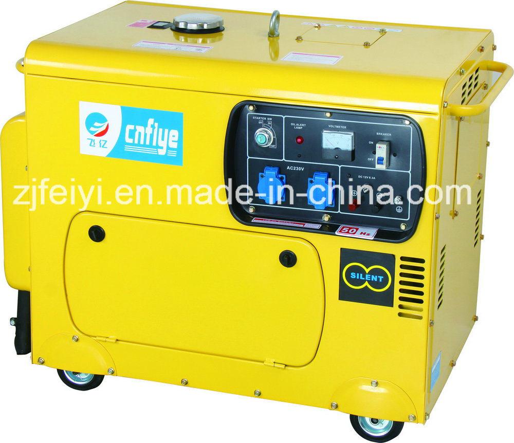 Fyd6500s-8 5kw Portable Self-Starting Silent Diesel Generator